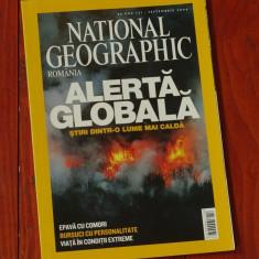 Revista National Geographic Romania - septembrie 2004 - 132 pagini