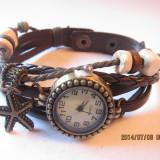 Ceas Vintage dama cu pandativ -cp12 - Ceas dama, Piele ecologica, Analog