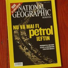 Revista National Geographic Romania - iunie 2004 - 120 pagini