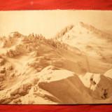 Ilustrata- -Bucegi - Zapada pe Furnica - Sinaia, interbelica - Carte Postala Muntenia dupa 1918