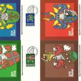 Liechtenstein 1980 - steme, serie Maxima