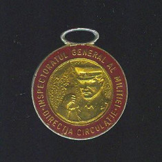 INSIGNA*INSPECTORATUL GENERAL AL MILITIEI DIRECTIA CIRCULATIE