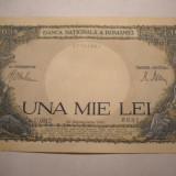 1000 lei 1941 XF - Bancnota romaneasca