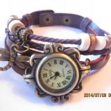 Ceas Vintage dama cu pandativ - cp6 - Ceas dama, Piele ecologica, Analog