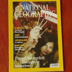 Revista National Geographic Romania - mai 2004 - 124 pagini