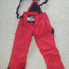 Pantaloni ski ATOMIC barbati rosu marime M- folosit - Echipament ski