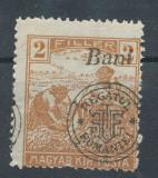 RFL 1919 ROMANIA Emisiunea Oradea seceratori 2 Bani eroare cu sursarj deplasat