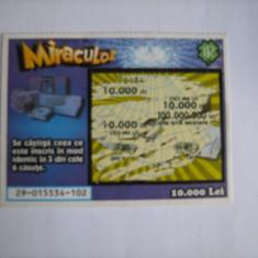Bilet de loterie - Bilet Loterie Numismatica