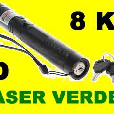 Laser Verde 3D(green Laser) Acumulator Raza mare seria 303 - Laser pointer