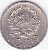Moneda Rusia (Uniunea Sovietica) 20 Copeici 1936 - KM#104 VF+, Europa