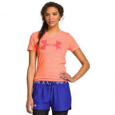 Under Armour Tri-Blend Big Logo V-Neck - Women's | Produs 100% original | Livrare cca 10 zile lucratoare | Aducem pe comanda orice produs din SUA