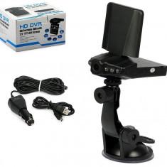 CAMERA VIDEO DVR AUTO CU INREGISTRARE FULL HD 1080P hd CICLICA - DISPLAY 2, 5 INCH, 6 LED INFRAROSU NIGHT VISION, SENZOR MISCARE, MARTOR ACCIDENT - Camera video auto ZDM