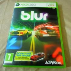 Joc Blur, xbox360, original! Alte sute de jocuri! - Jocuri Xbox 360, Curse auto-moto, 3+, Multiplayer