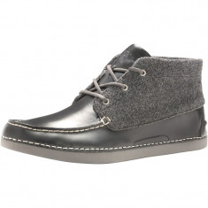 Ghetute Ugg Mens Kaldwell Boots Charcoal marimea 43 - Ghete barbati Ugg, Culoare: Negru, Piele naturala