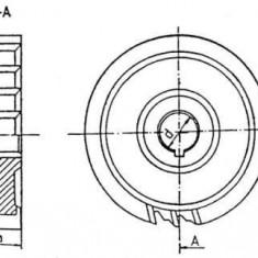 Freza disc cu trei taisuri DIN 885 - STAS 2215 Fi 80; 100