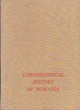HORIA C. MATEI - CHRONOLOGICAL HISTORY OF ROMANIA ( ENGL ), Alta editura