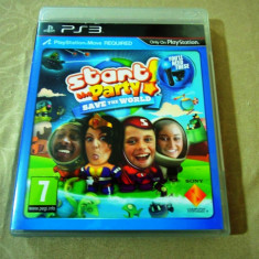 Joc Start the Party Save the World, PS3, original, alte sute de jocuri! - Jocuri PS3 Sony, Actiune, 3+, Multiplayer