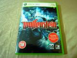 Joc Wolfenstein, xbox360, original, alte sute de jocuri!, Actiune, 18+, Single player