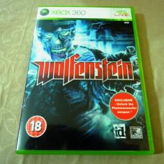 Joc Wolfenstein, xbox360, original, alte sute de jocuri! - Jocuri Xbox 360, Actiune, 18+, Single player
