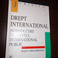 DREPT INTERNATIONAL INTRODUCERE IN DREPTUL INTERNATIONAL PUBLIC - Carte Drept international
