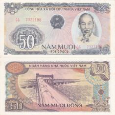 VIETNAM 50 dong 1985 AUNC!!!
