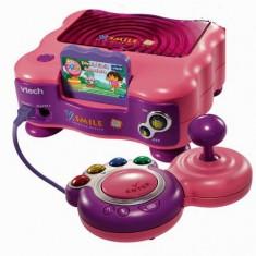 Consola educationala V-Smile VTECH cu un joc inclus + covor de dans - OKAZIE - Jocuri Board games