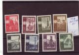 SERIE TIMBRE AUSTRIA   8 VALORI 1947