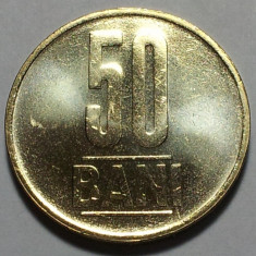 50 Bani 2012 Alama, Romania UNC, Luciu de batere, varianta comuna din fisic - Moneda Romania