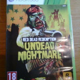 JOC XBOX 360 RED DEAD REDEMPTION UNDEAD NIGHTMARE ORIGINAL PAL / STOC REAL in BUCURESTI / by DARK WADDER - Jocuri Xbox 360, Actiune, 18+, Single player