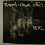 Disc vinyl LP - Baroque Organ Music (Bach, Murschhauser, Sweelink, Bohm), VINIL