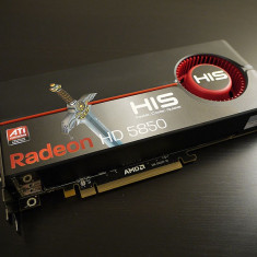Placa Video His ATI Radeon HD 5850 1 Gb 256 Bit 1080p Full HD - Placa video PC His, PCI Express