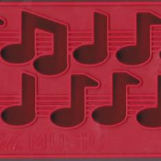 Patron pt gheata Coca Cola, note muzicale