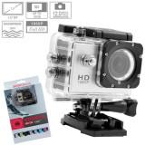 Camera Sport SJ4000 FullHD 1080P Subacvatic30m 12MP | Stabil Optic Pachet FULL | 2 Acumulatoare | Garantie 24 luni | Verificare Colet, Full HD, Card de memorie, CMOS, SJCAM