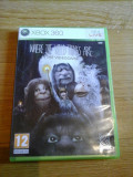 Cumpara ieftin JOC XBOX 360 WHERE THE WILD THINGS ARE THE VIDEOGAME ORIGINAL PAL / STOC REAL in BUCURESTI / by DARK WADDER, Role playing, 12+, Single player