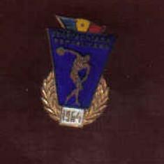 INSIGNA SPARTACHIADA REPUBLICANA 1964