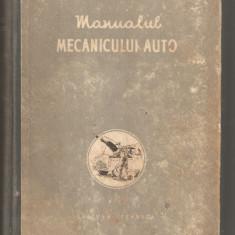 Manualul Mecanicului Auto - Carti auto
