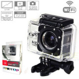 Camera Sport SJ4000 WiFi Hotspot FullHD 1080P Subacvatic30m 12MP Stabil Optic FULL Pak |2 Acumulatoare | similara GoPro | Garantie 24 luni | Ver Colet