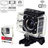 Camera Sport SJ4000 WiFi Hotspot FullHD 1080P Subacvatic30m 12MP Stabil Optic FULL Pak |2 Acumulatoare | similara GoPro | Garantie 24 luni | Ver Colet