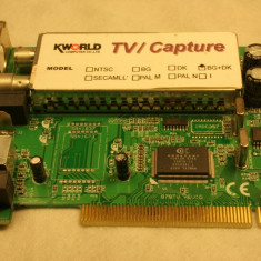 Tuner TV KWorld 25 RON - TV-Tuner PC Kworld, DVB-T, PCI, Intern