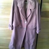 Pardesiu dama lung - Palton dama Aeropostale, Marime: M/L, Culoare: Maro, Casmir