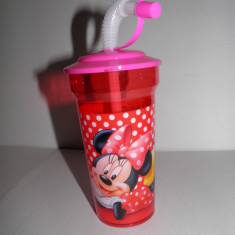 Pahar cu pai Minnie Mouse Disney