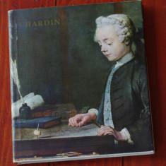 Carte - album --- Viktor N. Lazarev - Chardin - Ed. Meridiane 1974 - 72 pagini !!! - Album Pictura