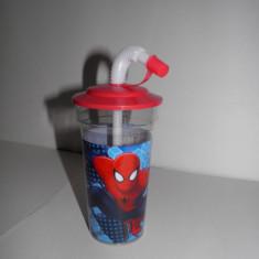 Pahar cu pai Spiderman Disney