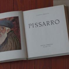 Carte - album --- Marina Preutu - Pissarro - Ed. Meridiane 1974 - 80 pagini !!! - Album Pictura