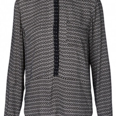 Camasa guler mao - Vero Moda 10134264 - print negru - Camasa dama Vero Moda, Marime: 36, 38