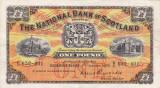 SCOTIA 1 pound 1956 VF+++!!!