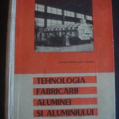 FILIP ION - TEHNOLOGIA FABRICARII ALUMINEI SI ALUMINIULUI - Carti Metalurgie