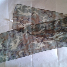 Fular scarf esarfa camo camuflaj camouflage tip forest airsoft paintball militar - Echipament Airsoft
