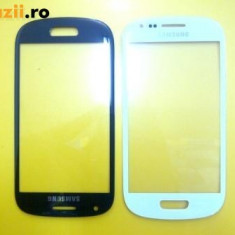 Geam Samsung Galaxy s3 mini i8190 Touchscreen sticla negre produs original - Touchscreen telefon mobil