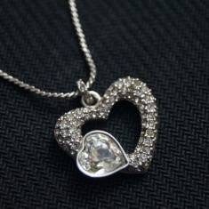 Pandantiv Argint cu cristale Swarovski plus lantisor argint - Pandantiv Swarovski
